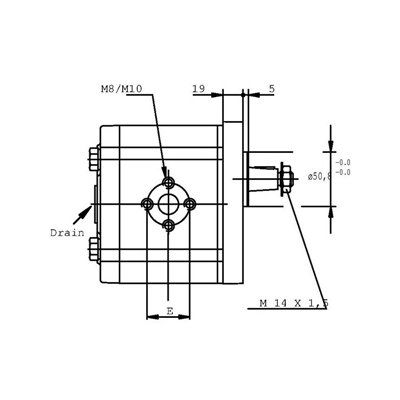 POMPA ZĘBATA CASAPPA PLP30.51D0-83E3-LED/EB-N-FS