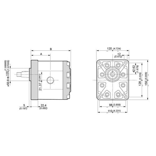 POMPA ZĘBATA GALTECH 3SPA/3GP62-D-10-G